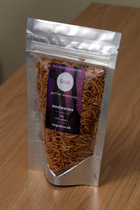EatGrub.co.uk freezedried mealworms packet